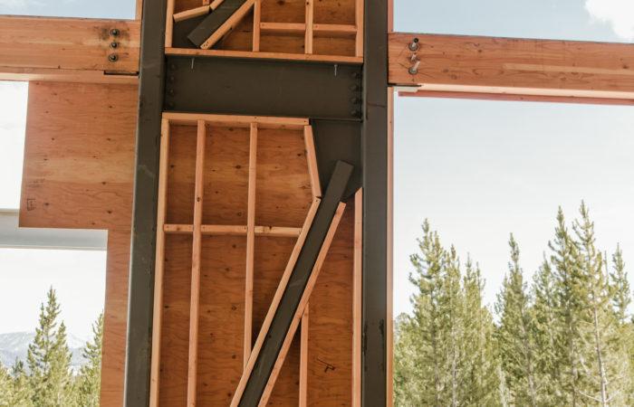 Steel Brace Frame.