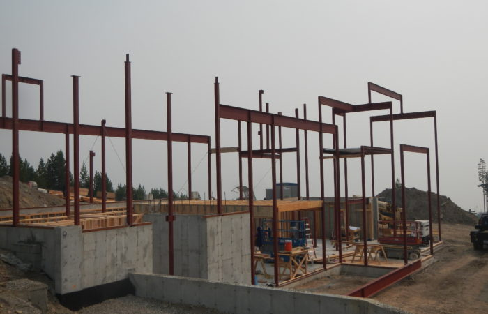 Structural Steel Erection In Progress. 3