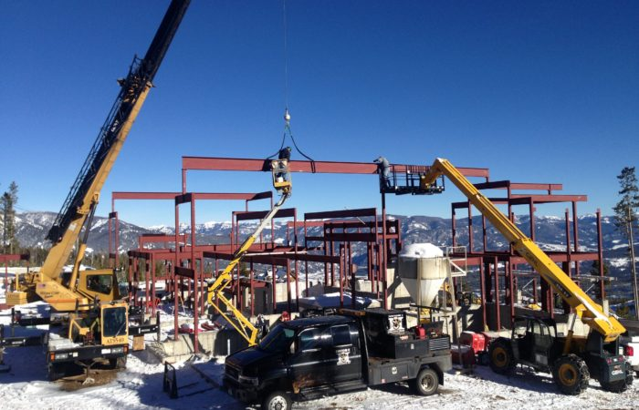 Structural Steel Erection In Progess. 5