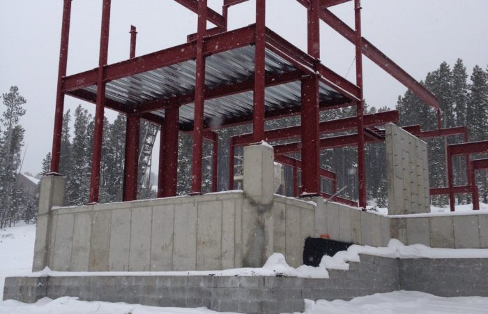 Structural Steel Erection In Progess. 6